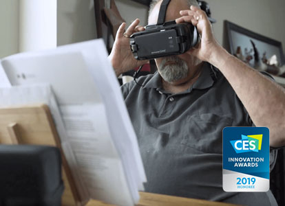IrisVision Wearable Low Vision Glasses